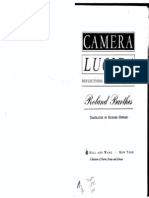 Camera Lucida by Roland Barthes