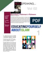 Islamically Speaking Newsletter VOL. 2