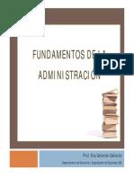 Fundamentos Administracion EGallardo.