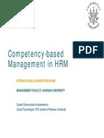 Competency BasedApproach BE2006dsk