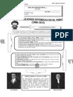 Rebeliones Internas en El Peru