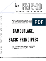 FM 5-20 Camouflage, Basic Principles