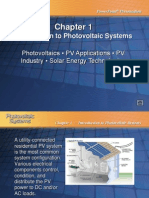 Introduction to Photovoltaic Systems