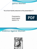 voilence against women ppt presentation.ppsx