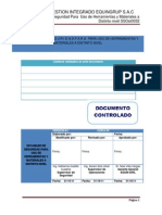 Ssost0032 Estandar de Seguridad Para Uso de Herramientas y Materiales a Distinto Nivel