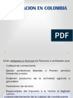 La facturación en Colombia