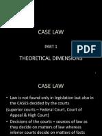 Lecture 5 Case Law 1