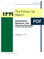 TFR Guide Assessment Glossary 2009-08-01 TVT