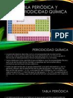 Tabla periódica y periodicidad química