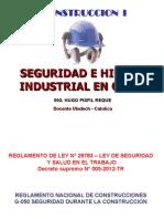 Seguridad e Higiene en Obras