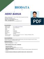 hero barua cv