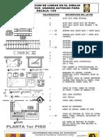 20-1 Valorizacion de Lineas en Arquitectura Esc 1-50