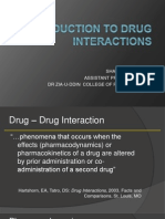 Introduction to Drug Interactions.ppt