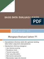 III Basis Data Evlan