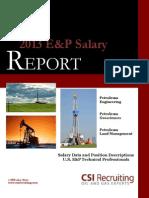 2013 E&P Salary Report - CSI Recruiting.pdf