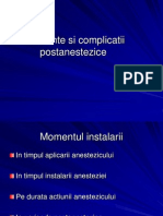 Accidente si complicatii postanestezice.ppt