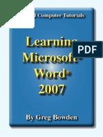 microsoft word 2007 beginner s training manual microsoft word