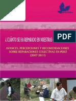 ICTJ Peru Reparaciones 2007