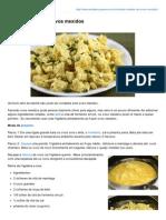 Receitassupreme.com.Br-Receita Simples de Ovos Mexidos