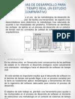 Metodologias de Desarrollo Para Sistemas de Tiempo Real