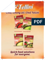 chef tellini soup packet data sheet