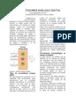 Convertidor Análogo Digital