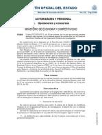 Proceso selectivo de la Escala de Científicos Titulares en Organismos Públicos de Investigación