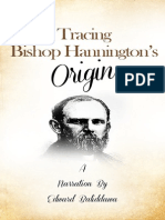 Tracing Bishop Hannington Origin