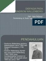 Disfagia Pada Sindrom Wallenberg