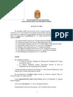 Acta Junta Municipal Distrito Norte octubre 2013
