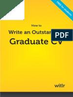 Write an Outstanding Graduate CV