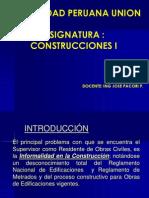 Consttrucciones i