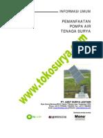General Info Mono Water Pump