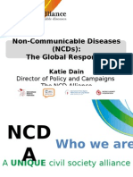 NCDS- The Global Response