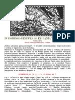 IV domingo post Epifanía transferido- PDf