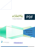 eClinicPlus Product Brochure