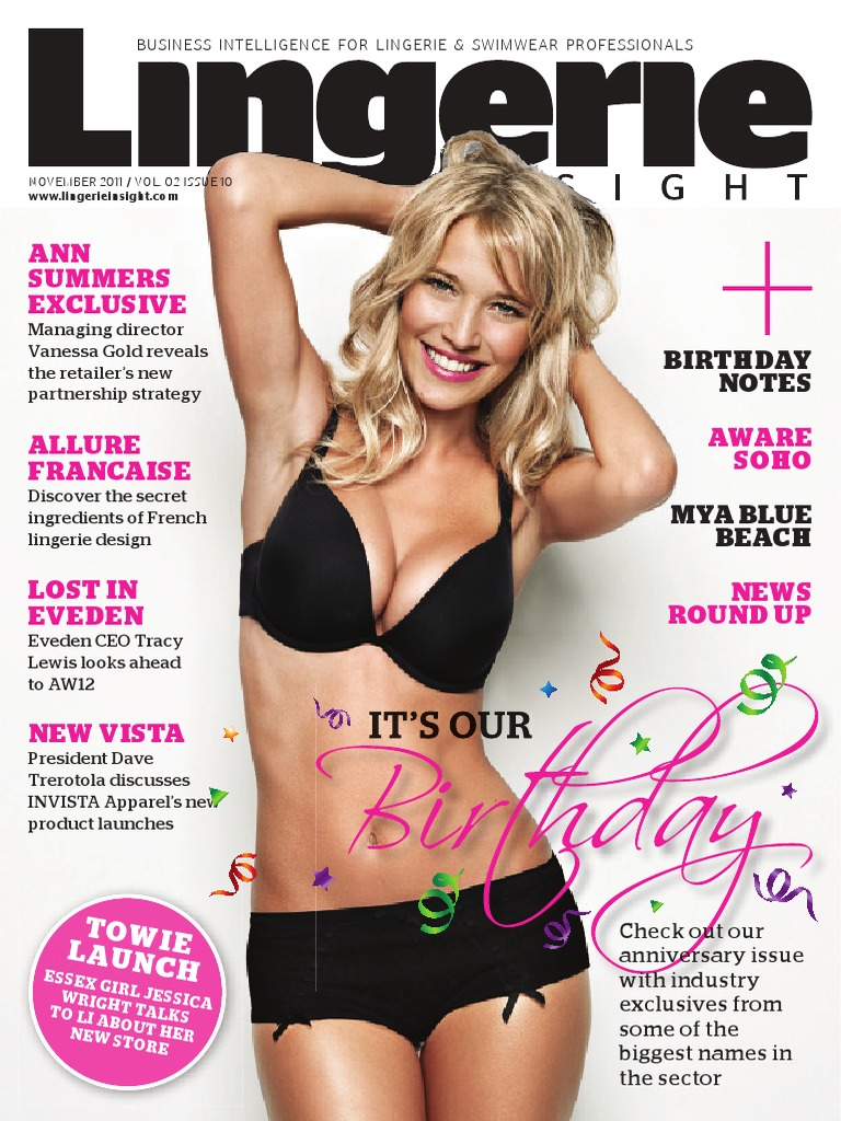 5771f1f784 Lingerie Insight Magazine November 2011