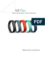 Fitbit Flex Manual de Producto - Espanol