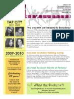 Newsletter 2009 2010
