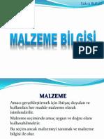 MALZEME BİLGİSİ 300407