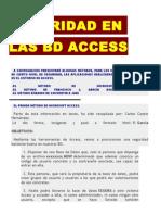 Seguridad en Las Bd Access