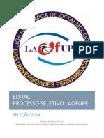 Edital LAOFUPE Atualizado 30-10-13