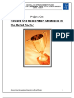 Reward and Recognition Strategies in the Retail Sector