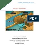 Proyecto Hidroelectrica El Quimbo