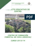 Proyecto Educativo CFA Coca 2013_14