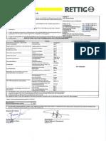 Leistungserklärung noppjet 11 EPS 200