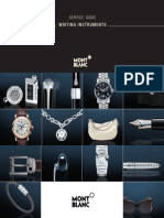 Montblanc Writing Instruments Service Guide US