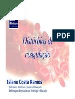 Distúrbios de coagulação