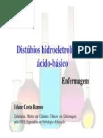Distúrbios hidroeletroliticos
