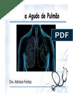 Edema agudo de pulmão